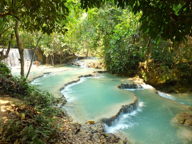 quang si waterfalls