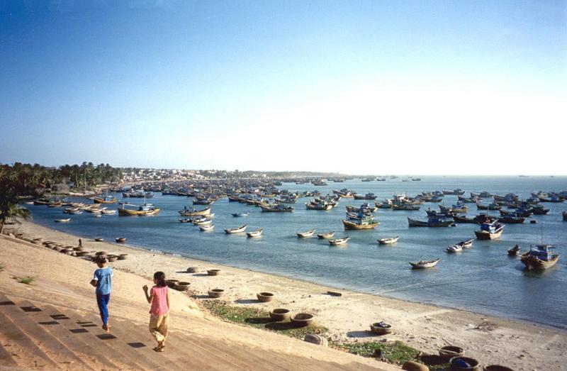 a Binh Thuan Beach