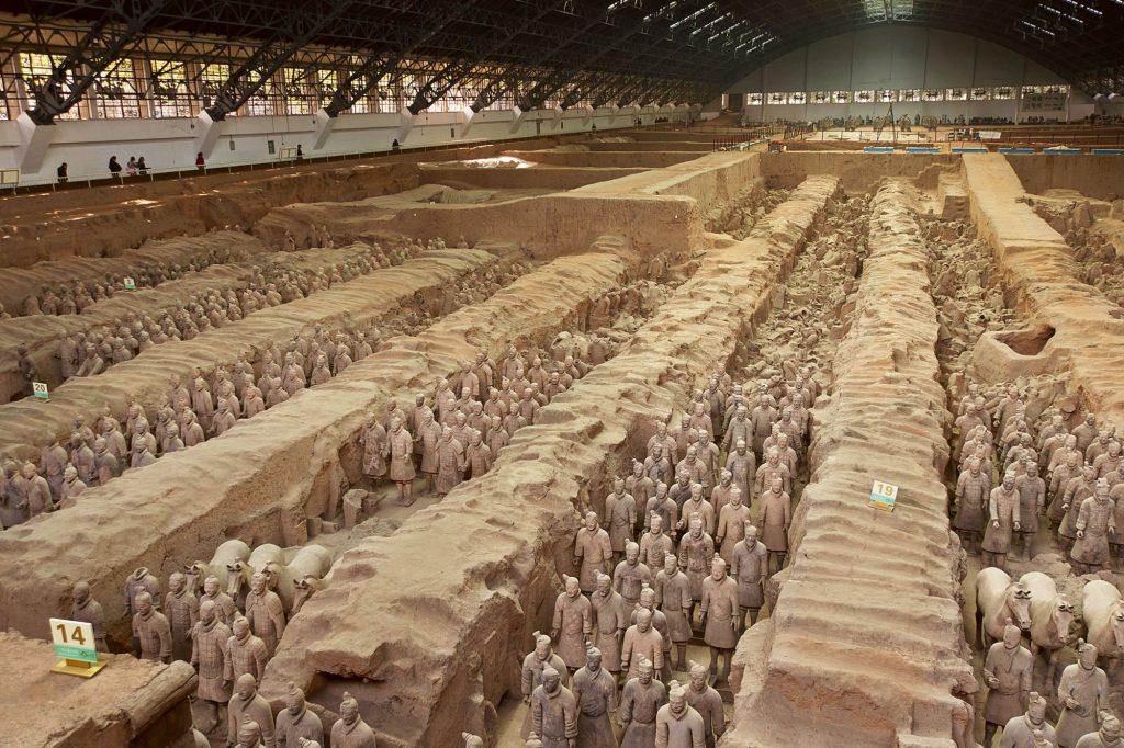 los guerreros de xian mausoleo nubia tours