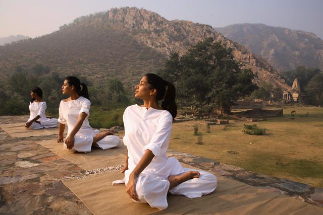 viajar a la India para hacer yoga