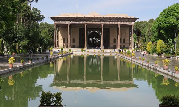 jardines isfahan