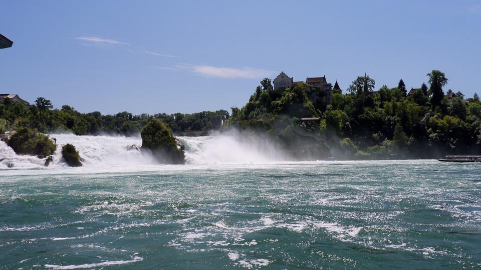 Cataratas del Rhin en Zúrich