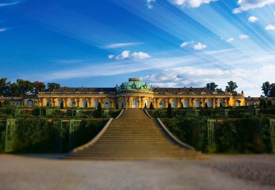 jardines de Sansoucci Potsdam