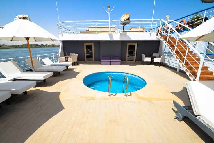 Crucero por el Nilo Salima 5* Lujo