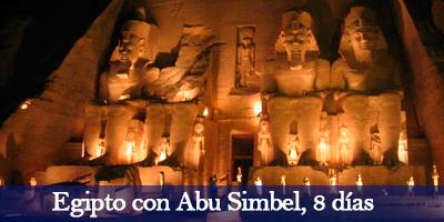 Viaje Egipto con Abu Simbel