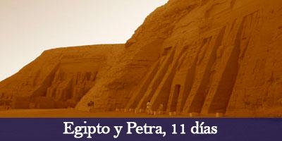 Viajar a Egipto y Petra