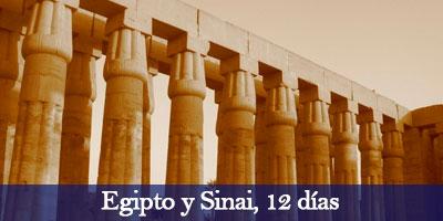 Viajar a Egipto y Sinaí