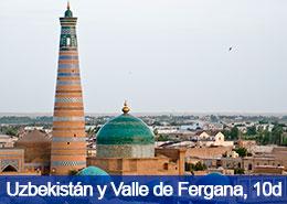 Uzbekistán y Valle de Fergana - 10 dias