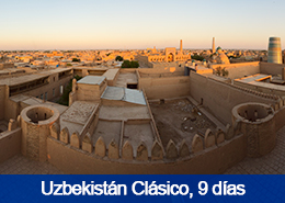 Uzbekistán clásico - 8 días